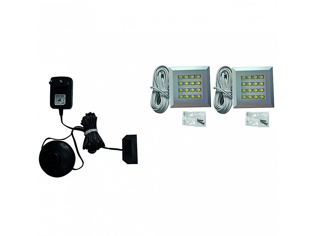 Zestaw oświetlenia LED 2-punktowy IZLED09-02-WK01