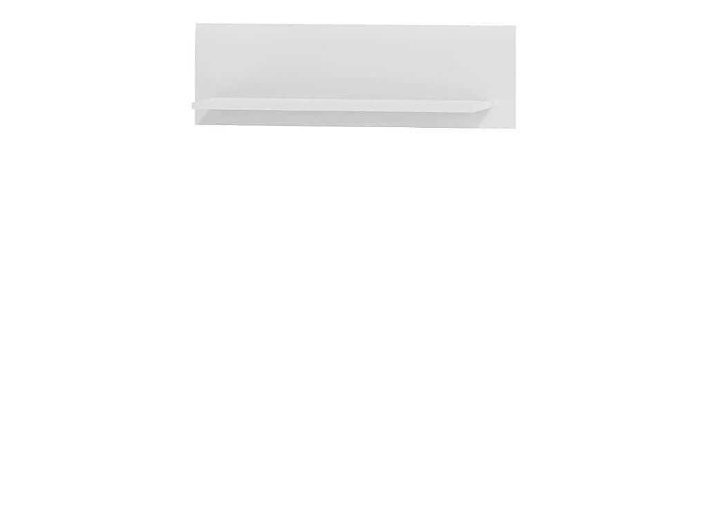 biała półka wisząca