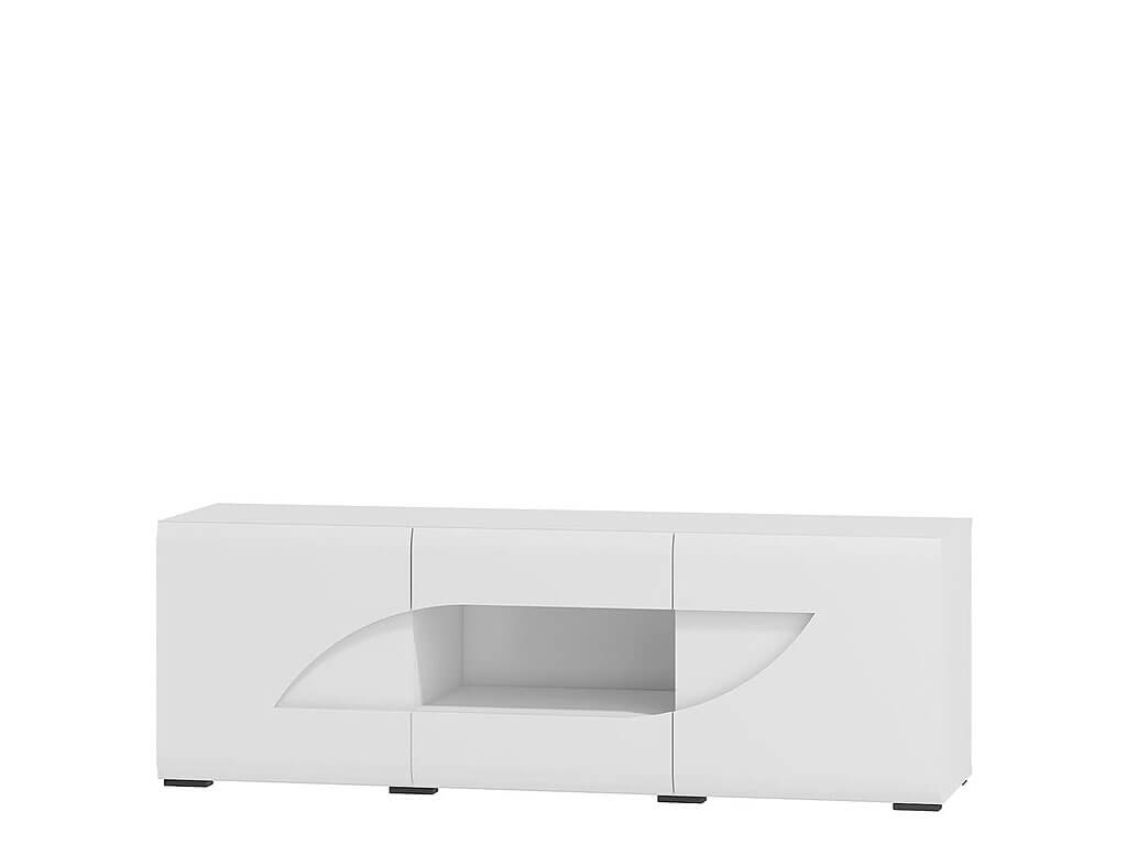 duża biała szafka RTV
