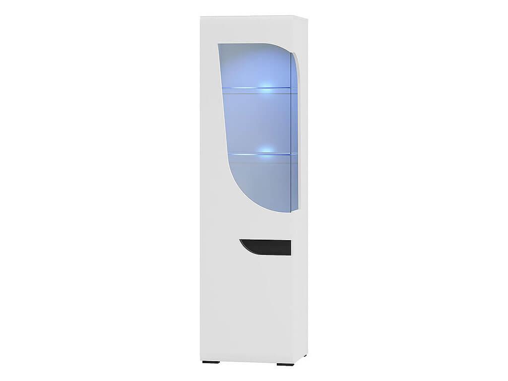 witryna jednodrzwiowa z oświetleniem Bryza