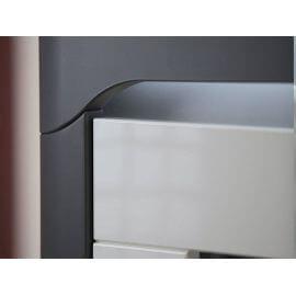 nowoczesna szafa z półkami #2