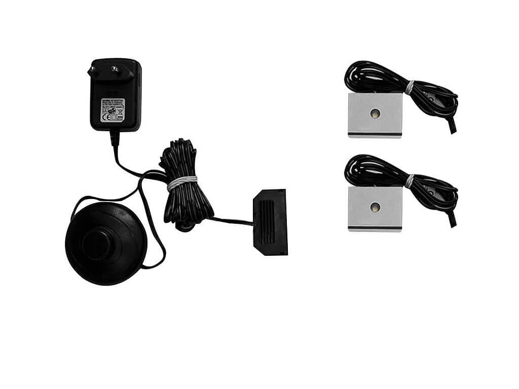zestaw oświetlenia LED 2-punktowy IZLED08-02-WW01