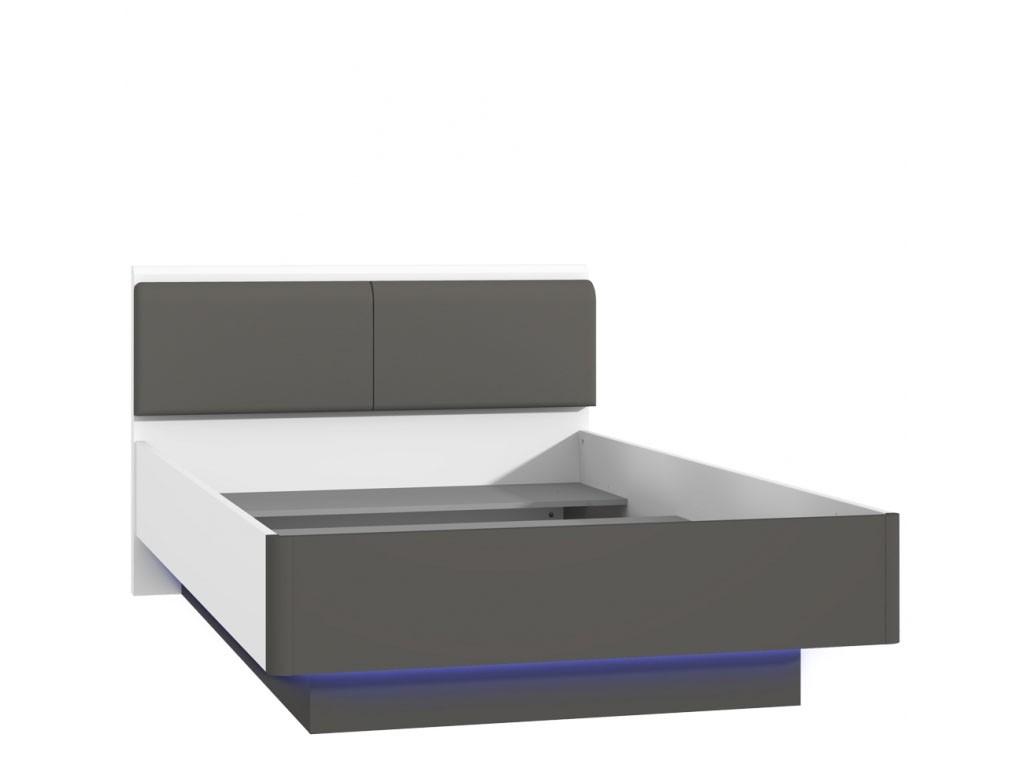 Szerokie łóżko młodzieżowe HEYL222