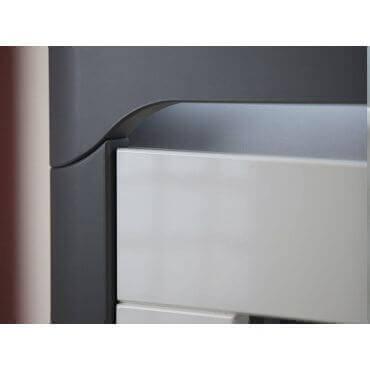 nowoczesna biała komoda z szufladami Theo White