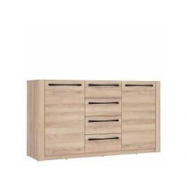 komoda z drzwiami i z szufladami