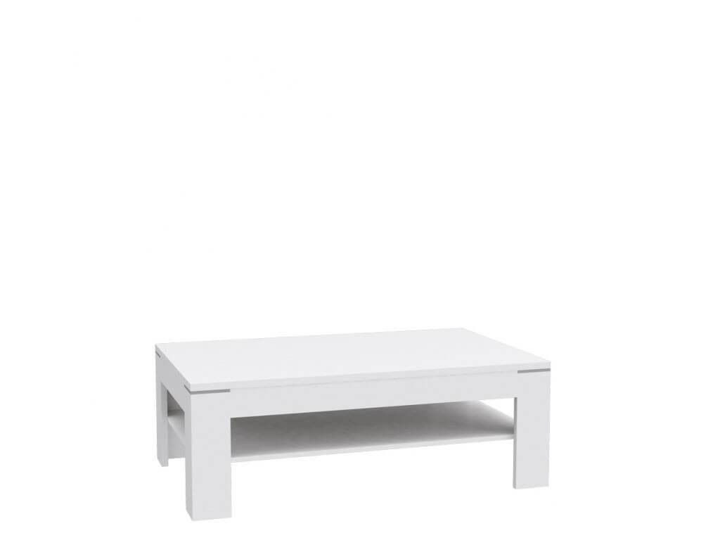 Nowoczesny biały stolik okolicznościowy Snow
