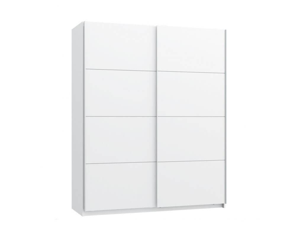 Nowoczesna biała szafa ubraniowa Starlet White