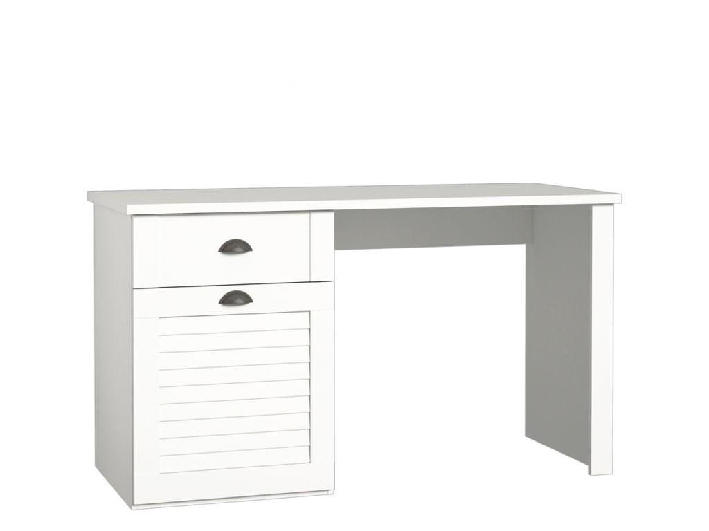 Białe biurko Marida