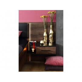 Łóżko + szafki nocne BLQL161B #6