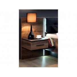 Łóżko + szafki nocne BLQL161B #7