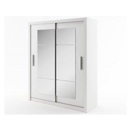 IDEA Szafa przesuwna ID-02 : Dekory do kombinacji atrybutów - P50, Dekory Lenart - biały