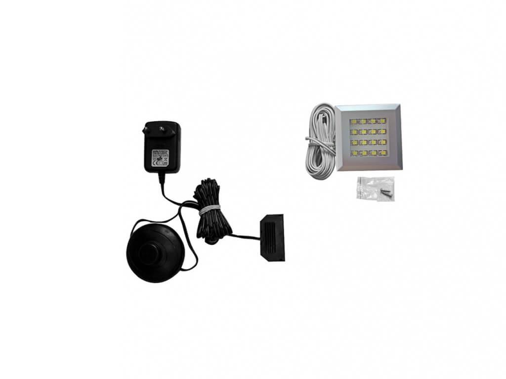 Zestaw oświetlenia LED 1-punktowy IZLED09-01-WW01